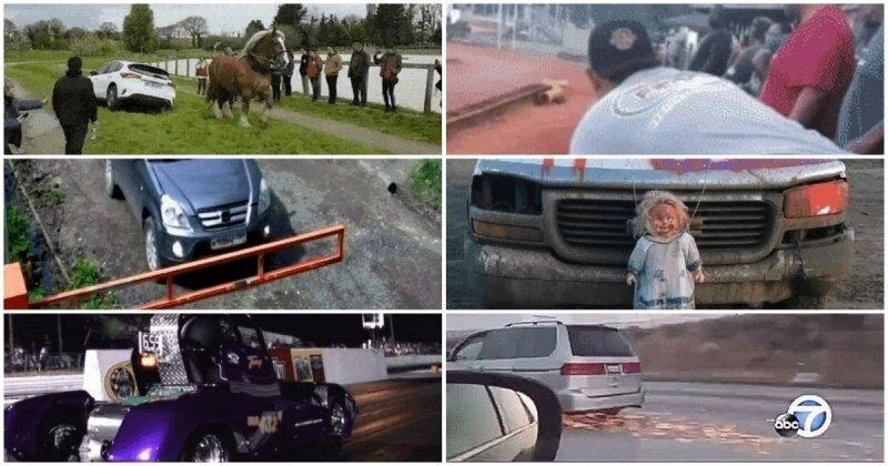 Самые разные гифки на автотему