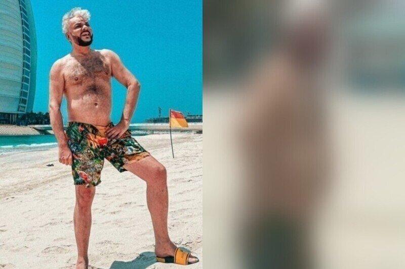 Без грима и фотошопа: Киркорова встретили на отдыхе, и показали, как он выглядит в реальной жизни