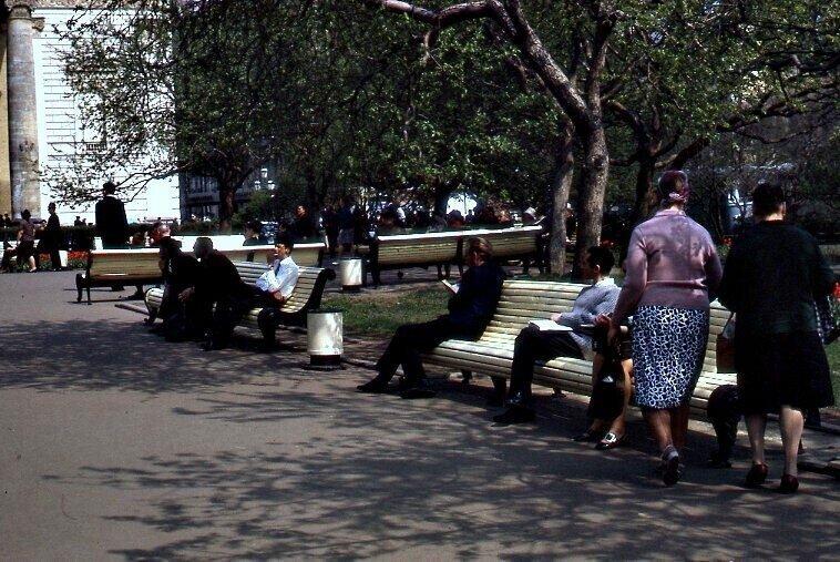 Москва в начале 1970-х: Фотографии повседневной жизни Москвы