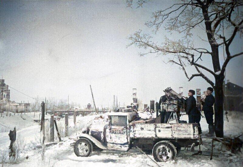 Мгновения войны: архивные фото автомобилей Красной армии