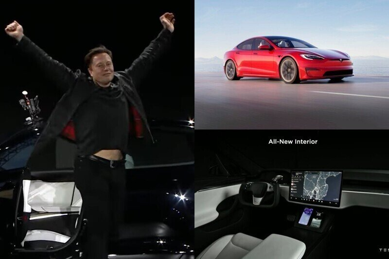 Илон Маск представил самый быстрый электромобиль серийного производства