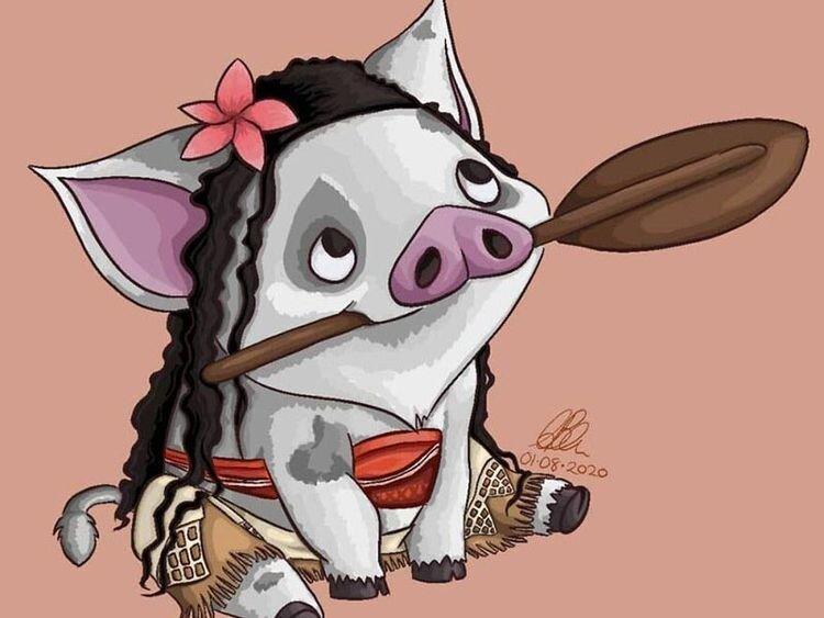 Второстепенные персонажи Диснея в виде принцесс: смешные иллюстрации