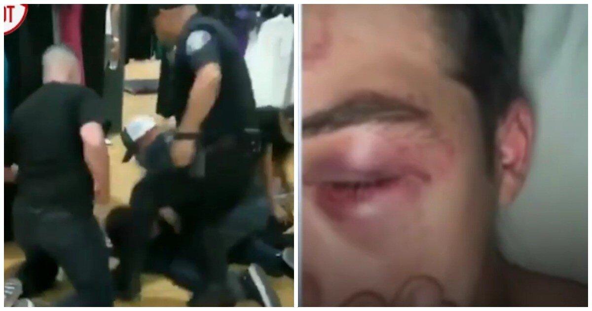В Калифорнии полицейские избили подростка за кражу в магазине