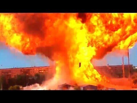 Взрыв в Новосибирске