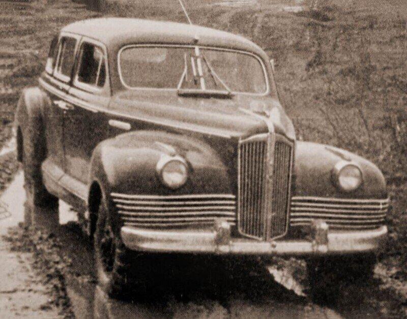 ЗИС-110Ш: советский полноприводный «суперлюкс»