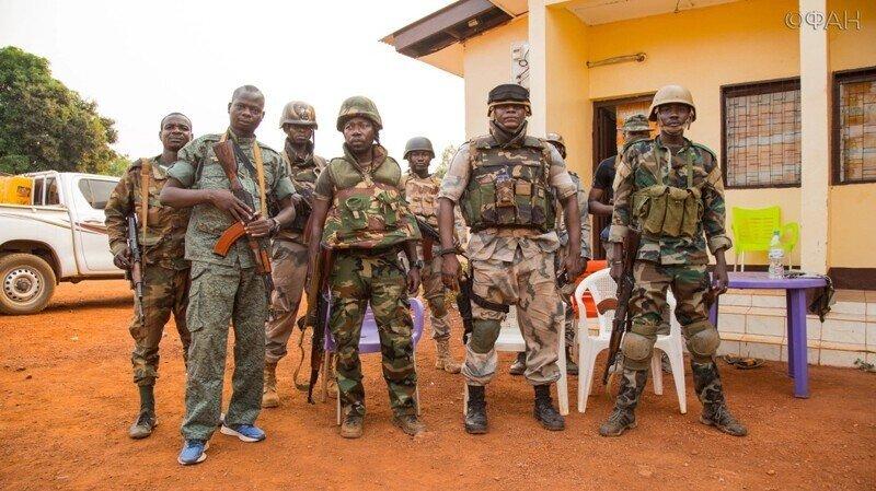 ВС ЦАР перехватили официальное обращение посольства Франции к боевикам