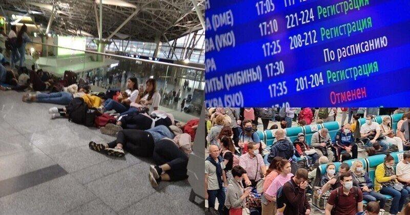 В московских аэропортах задержали и отменили свыше 20 рейсов