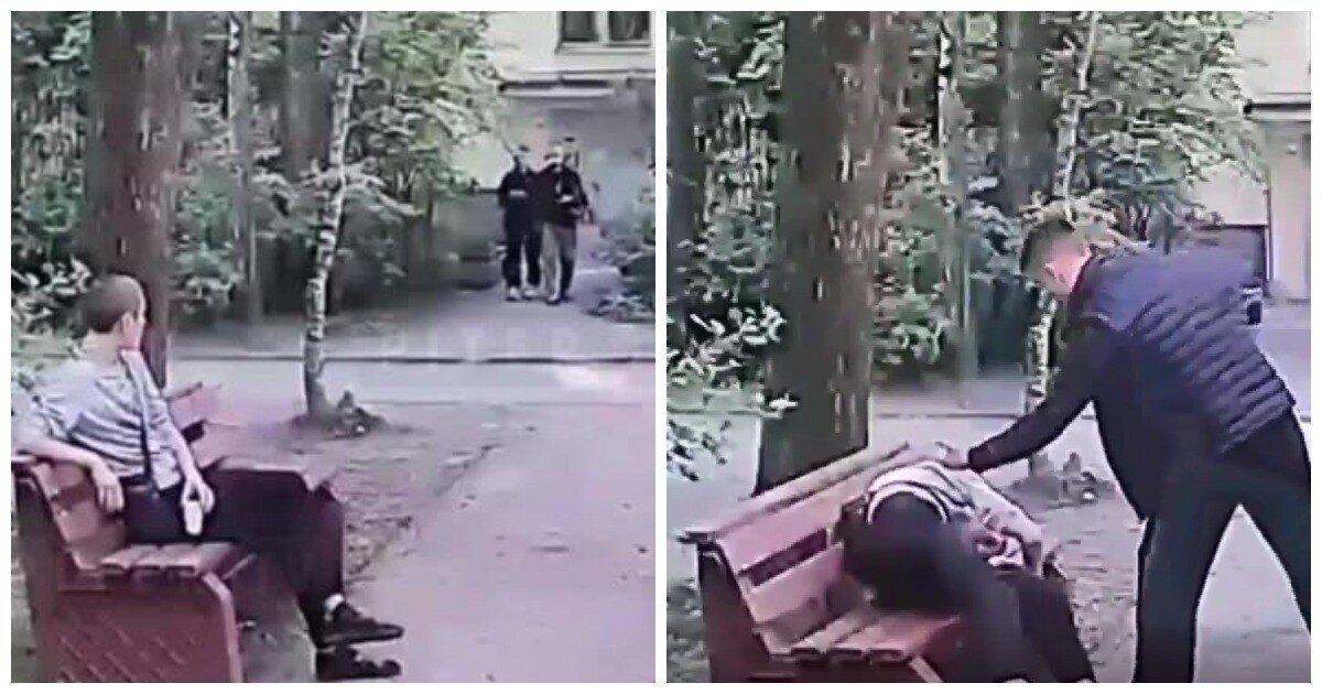 В Петербурге двое подростков избили местного жителя и отобрали у него телефон