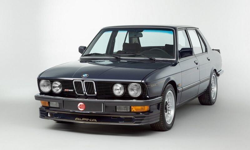 Alpina B9 E28 1983 — Отличная альтернатива классическому BMW M5