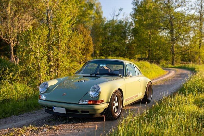 """Прекрасный рестомод Singer """"Brooklyn Commission"""" Porsche 911"""