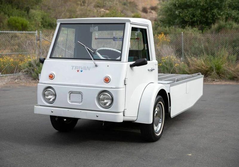 Trivan на трёх колёсах: странный американский грузовик, о котором мало кто слышал