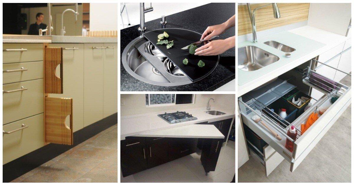 Умная кухня: 25 важных мелочей для тех, кто делает ремонт