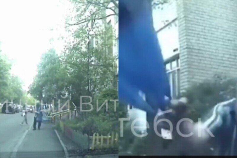 """GTA Vitebsk, или Как дед из Витебска """"выписал штраф"""" нарушителю парковки"""