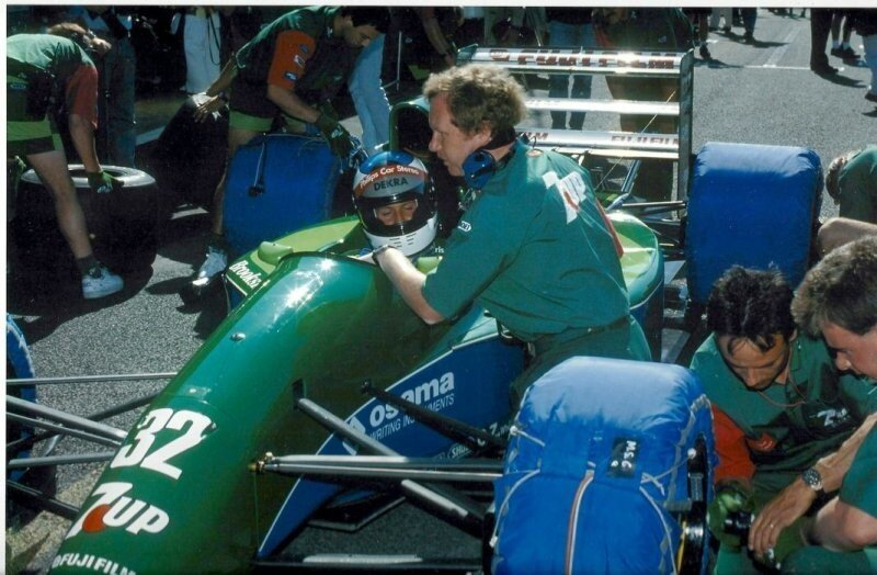 Первый гоночный болид F1 Михаэля Шумахера выставлен на продажу