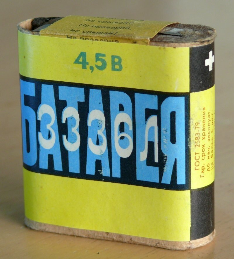 """Почему в """"плоских"""" батарейках не 2 и не 4 элемента?"""