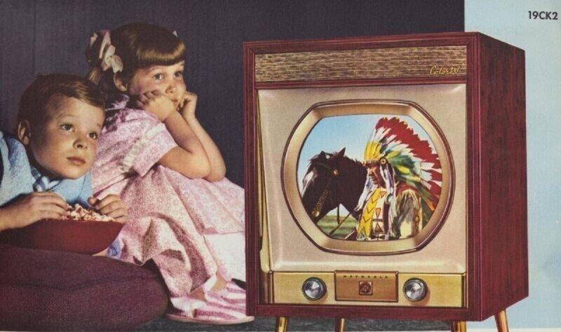 Винтажные телевизоры Motorola из 1950-х