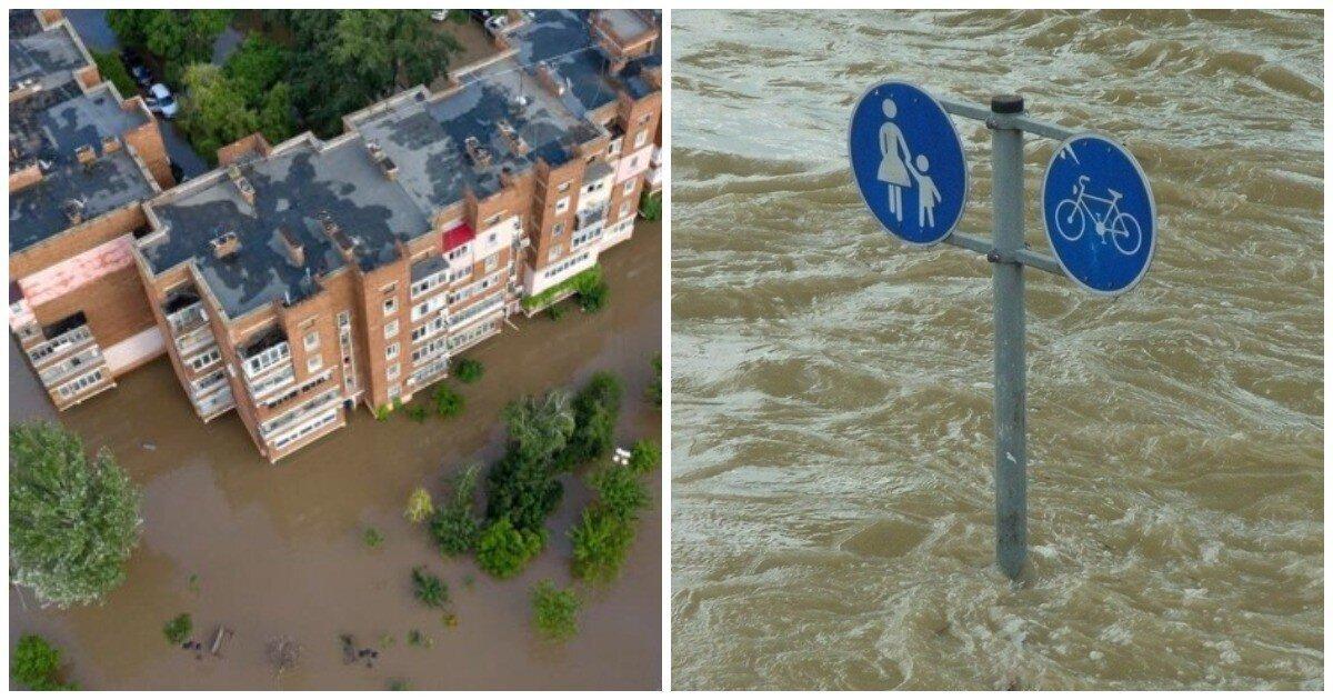Из-за сильных дождей власти Ялты ввели в городе режим ЧС и объявили эвакуацию