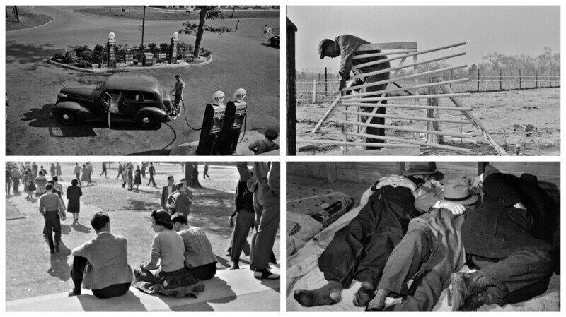 Ретро-фотографии: повседневная жизнь США в 1938-1941 годах