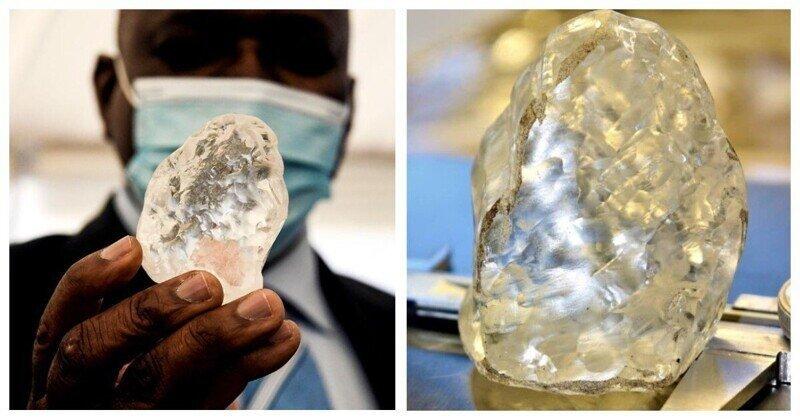 В Ботсване найден третий по величине в мире алмаз