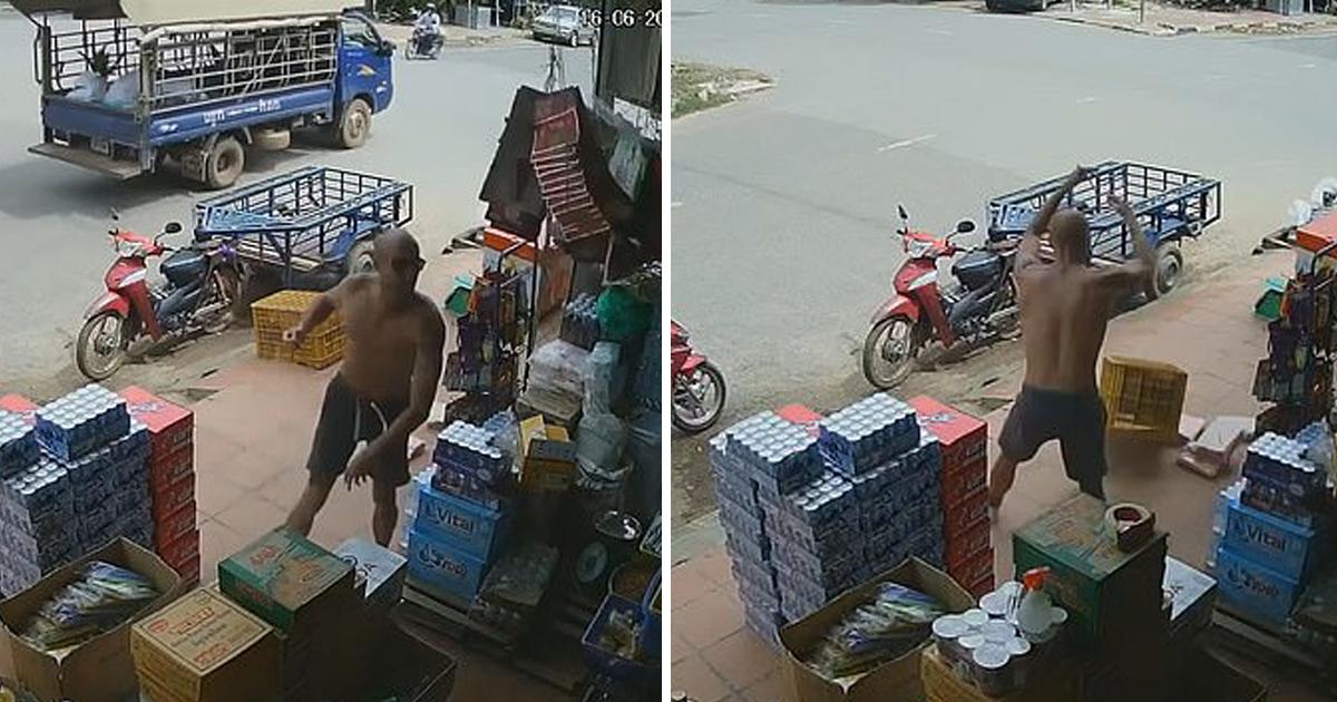 Американец разгромил магазин в Камбодже: его отказались обслуживать, потому что он белый