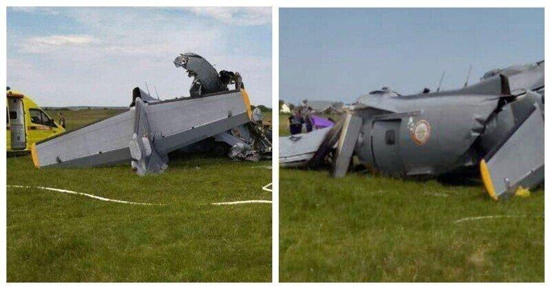 Самолёт c парашютистамиразбился вКемеровской области