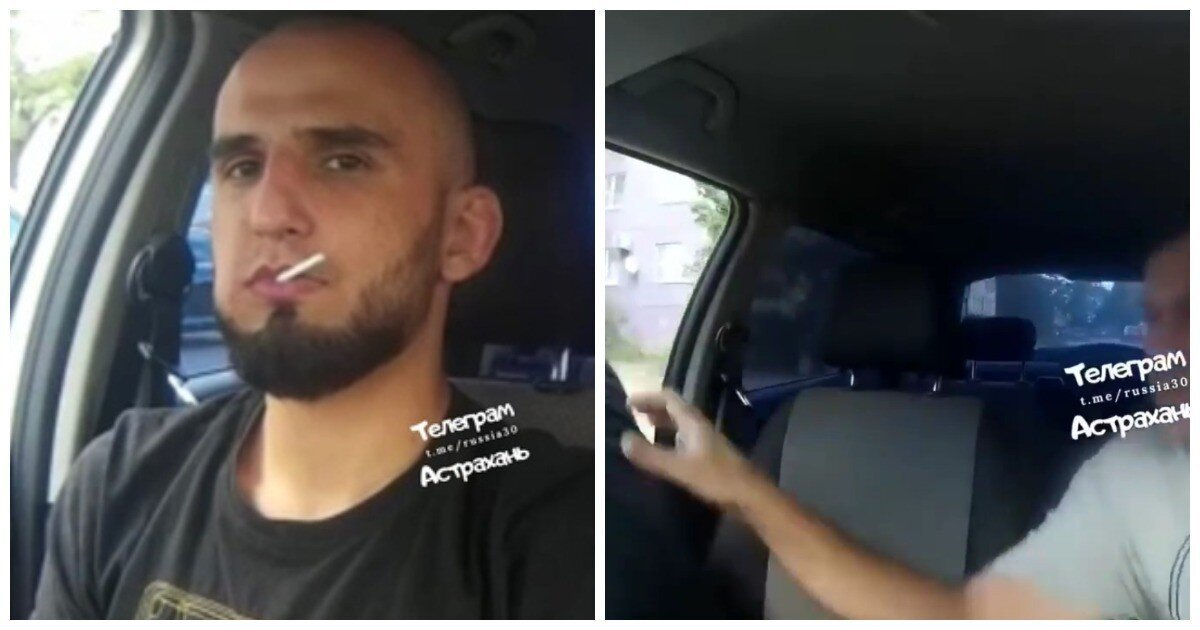 В Астрахани кавказец не заплатил за такси и на ходу выпрыгнул из машины