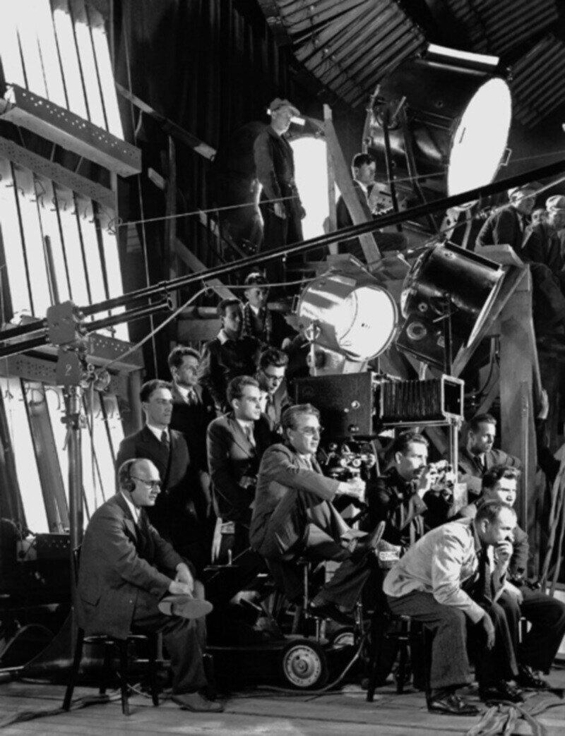 Редкие кадры со съемочных площадок знаменитых советских фильмов