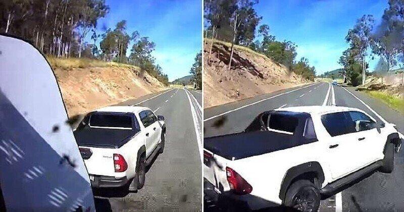 Видео дорожного инцидента, которое хорошо поймет каждый водитель
