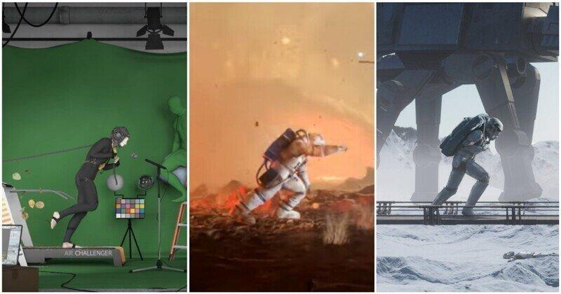 Несколько тысяч 3D-художников создали эффектные сцены, использовав одну и ту же анимацию