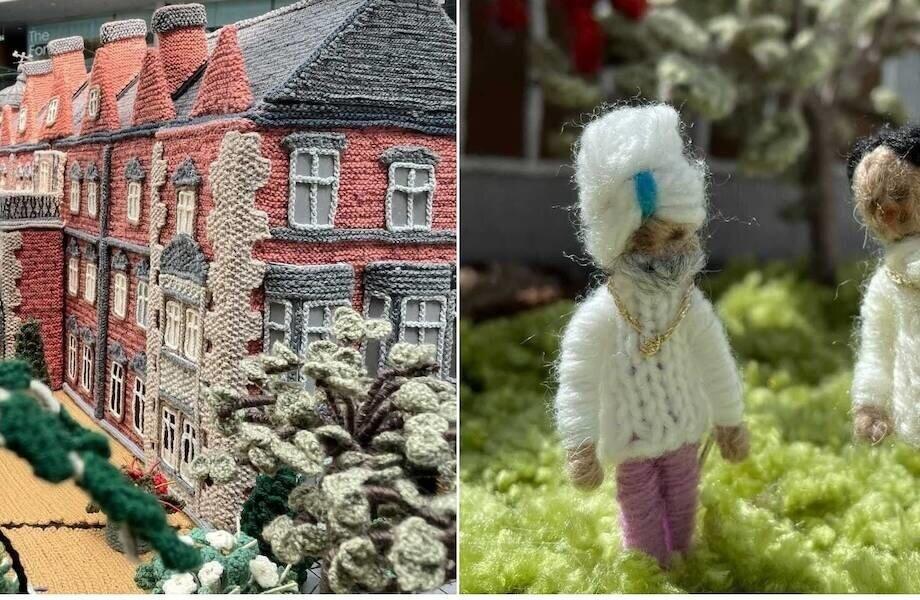 92-летняя британка создала вязаную копию Сандрингемского дворца