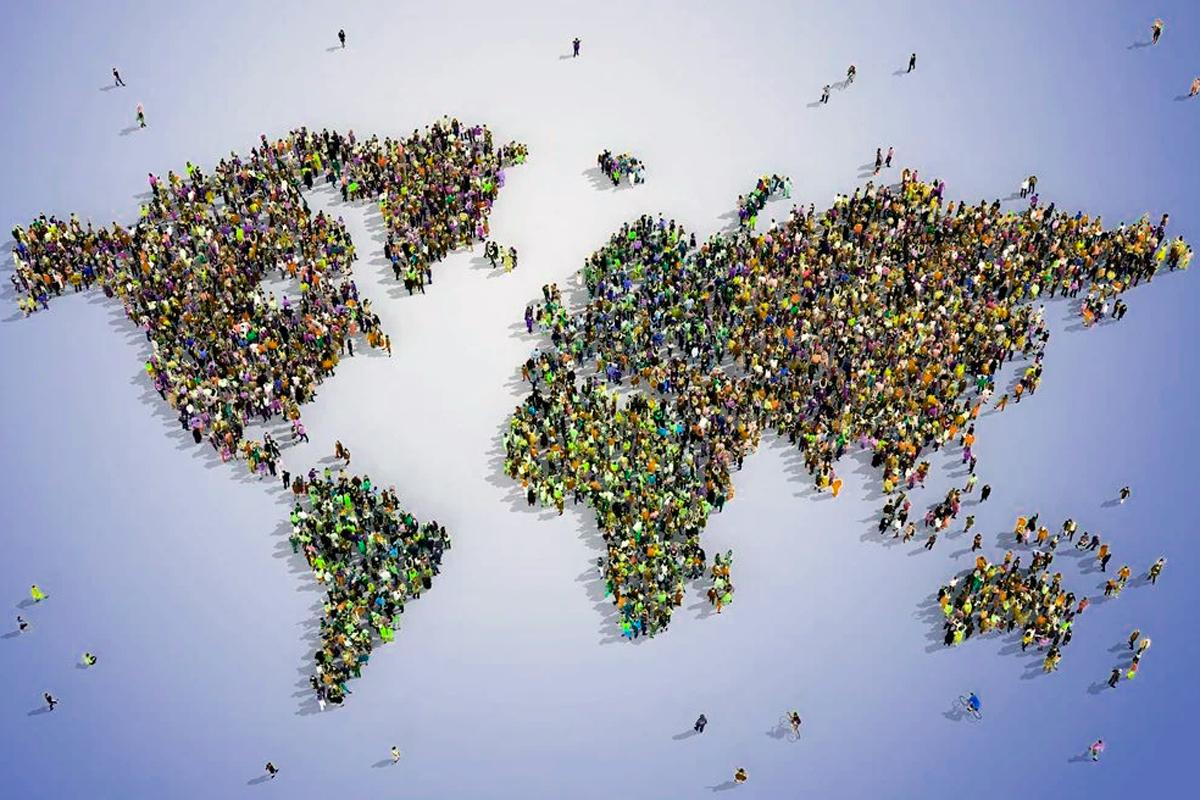 Что если бы на Земле проживал 1 дециллион человек?