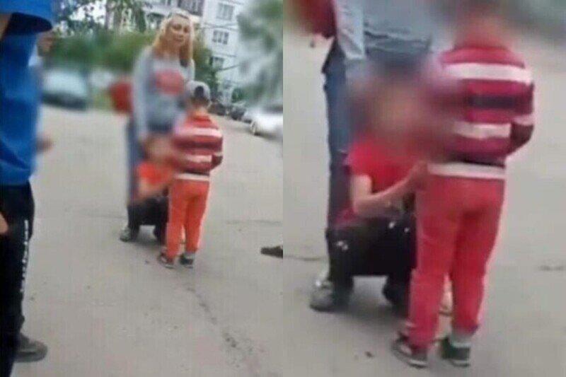 """""""Яжемать"""" из Красноярска поставила ребенка на колени и заставила прилюдно извиняться перед сыном"""