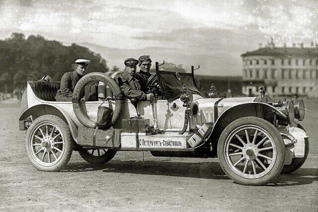 Cобран первый русский серийный автомобиль — «Руссо-Балт». 21 июня 1909