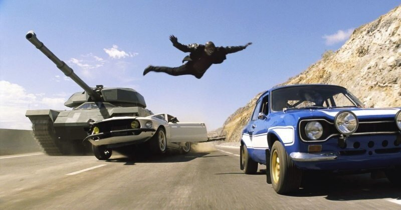 Эволюция автомобильных кинопогонь за последние 100 лет