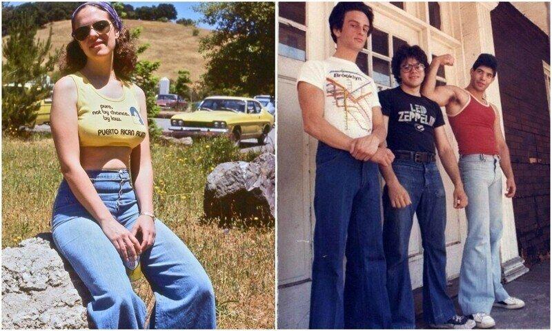 Клёши: писк моды 70-х и символ десятилетия
