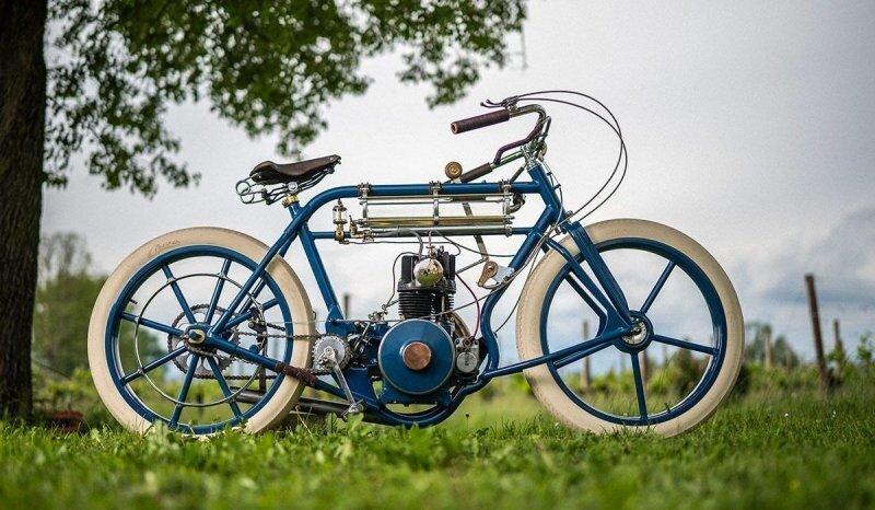 Plasma Custom: винтажный кастомный мотоцикл с нуля