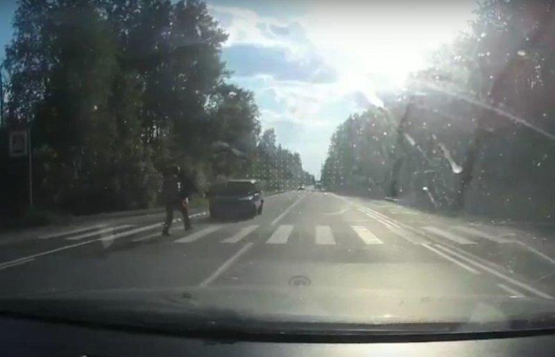 Авария дня. Страшный наезд на пешехода в Ленобласти