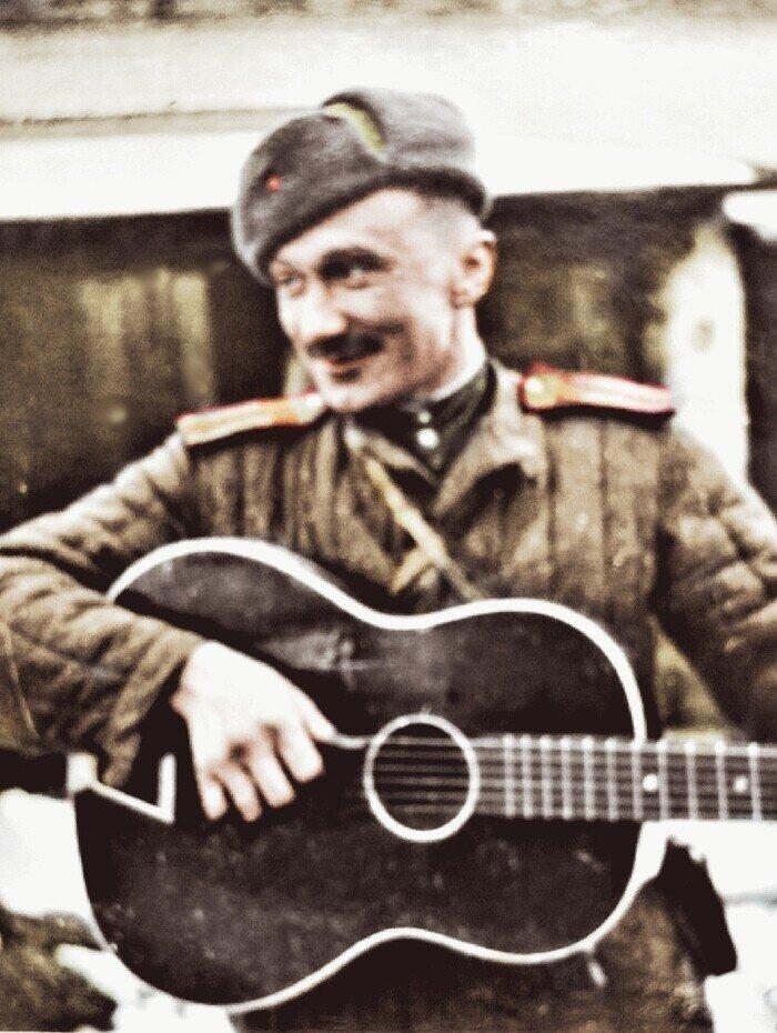Боевой путь актера Смирнова