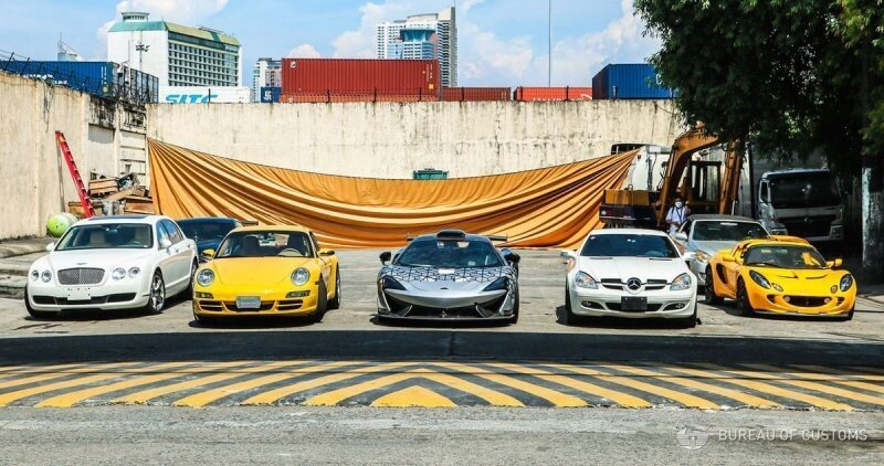 Очень редкий McLaren и другие суперкары уничтожены на Филиппинах