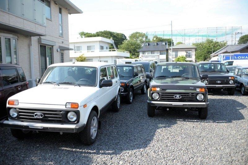 В Японии продают новые «Нивы», но цены очень удивляют