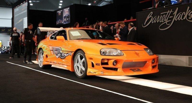 Оригинальная Toyota Supra из «Форсажа» продана за рекордные $ 550.000