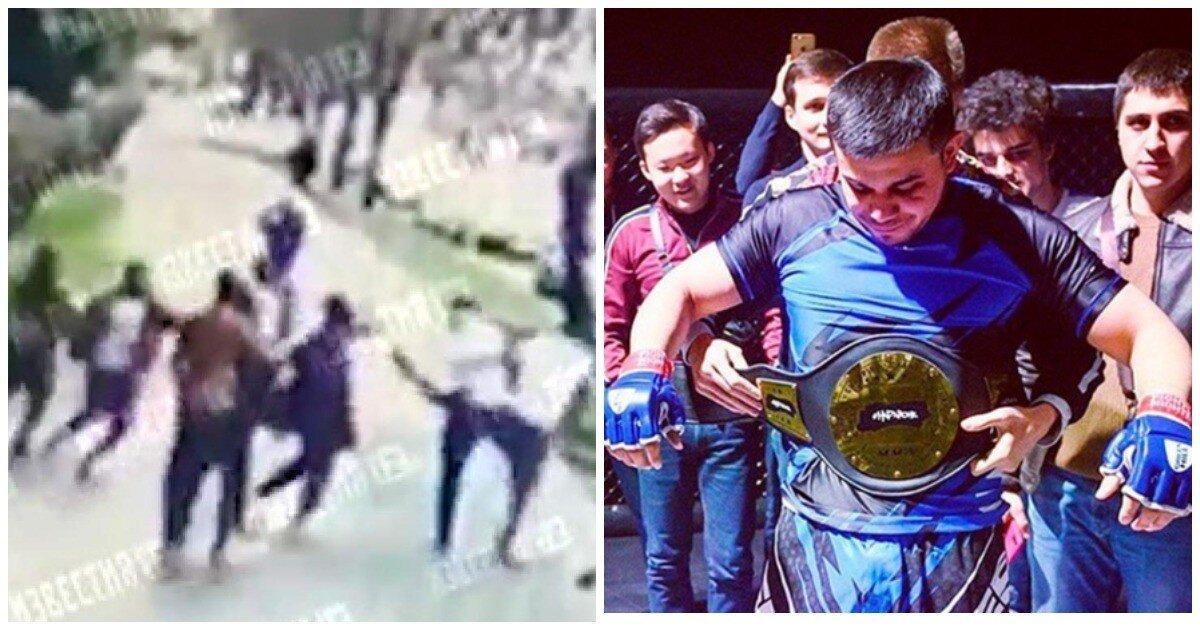 В Москве африканские студенты избили таджикского бойца ММА