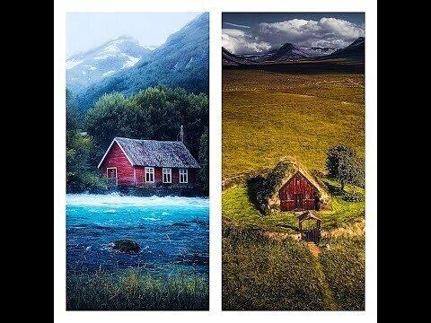 Сказочный мир Скандинавии на снимках Фредрика Штремме