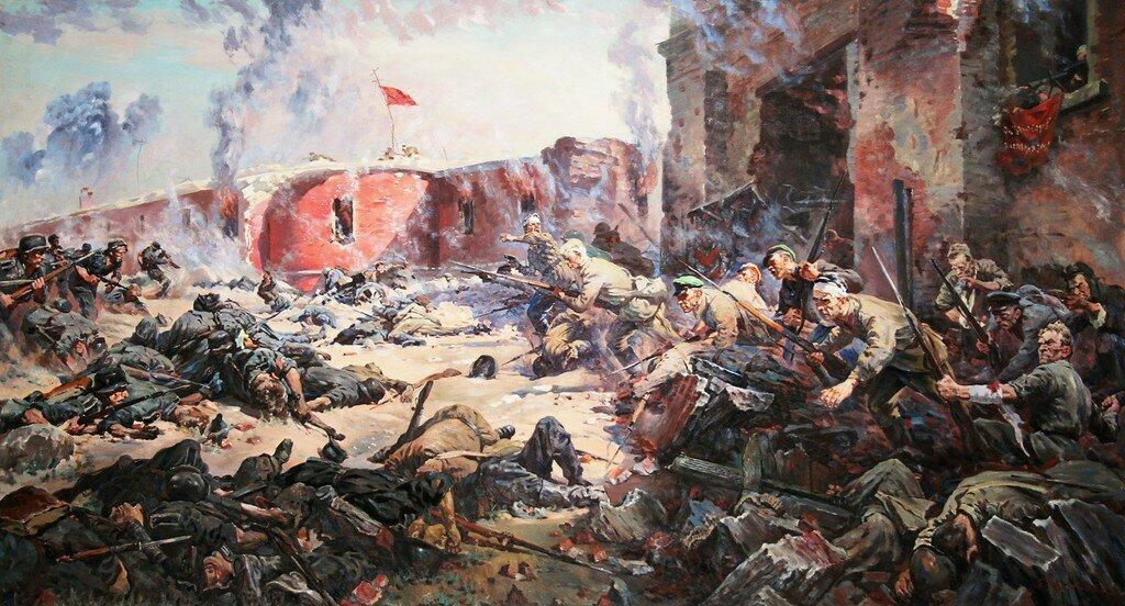 Когда пала Брестская крепость?