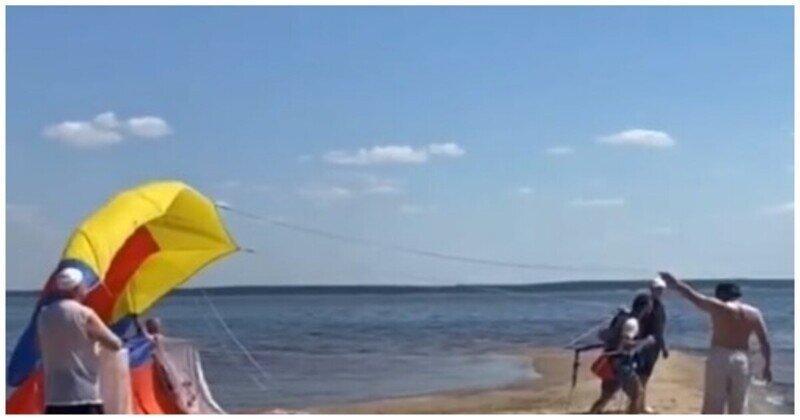 Пляжные аттракционы могут быть опасны для здоровья