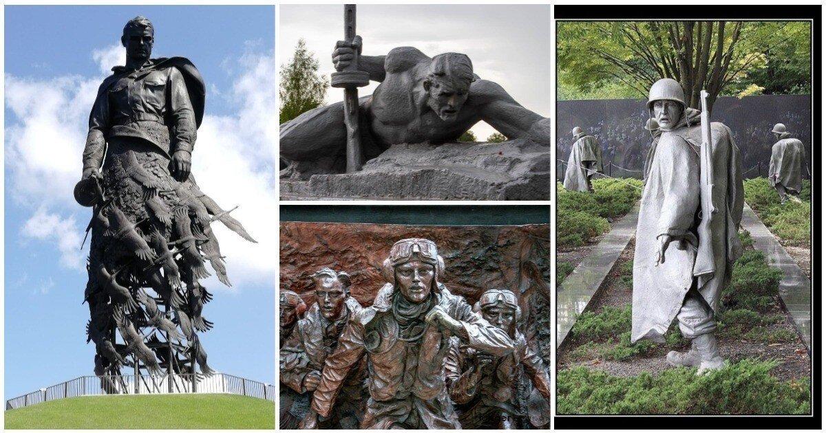Мертвый город: 20 самых пронзительных солдатских мемориалов