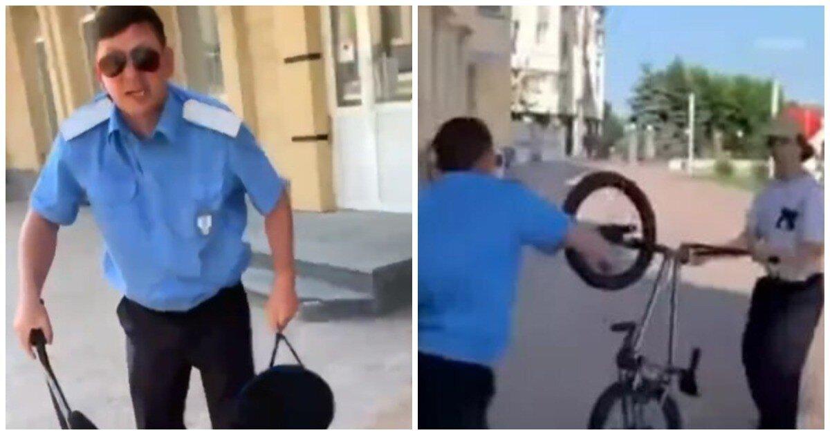 Казак напал на подростков-велосипедистов в центре Ставрополя