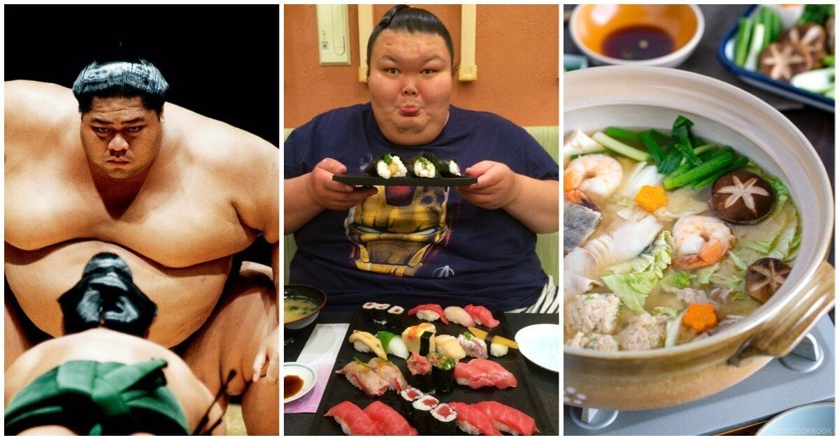 Тянка для сумоиста: как едят борцы сумо