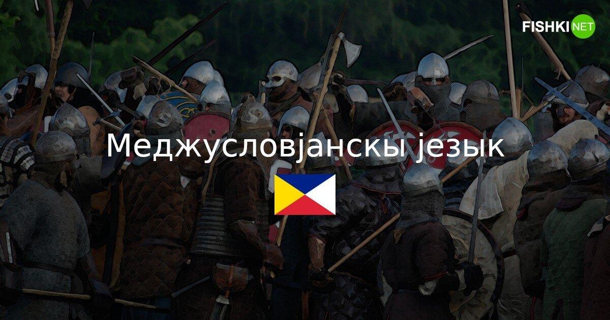 Русский язык — прошлое, Меджусловјанскы језык — будущее?