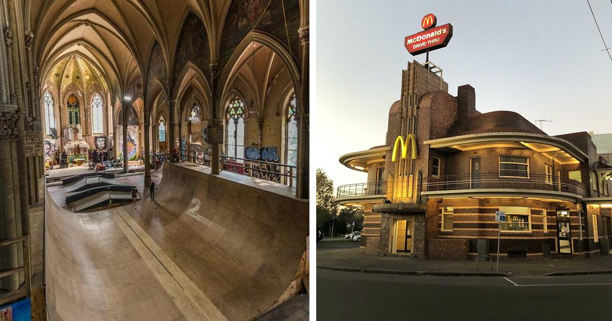 35 старых зданий, которым подарили новую жизнь
